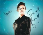 Frances Barber, Madame Kovarian - Doctor Who, 10 x 8 Genuine Signed Autograph 6875